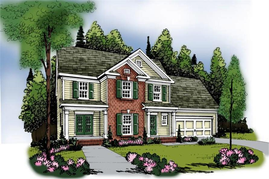 Main image for house plan # 17153