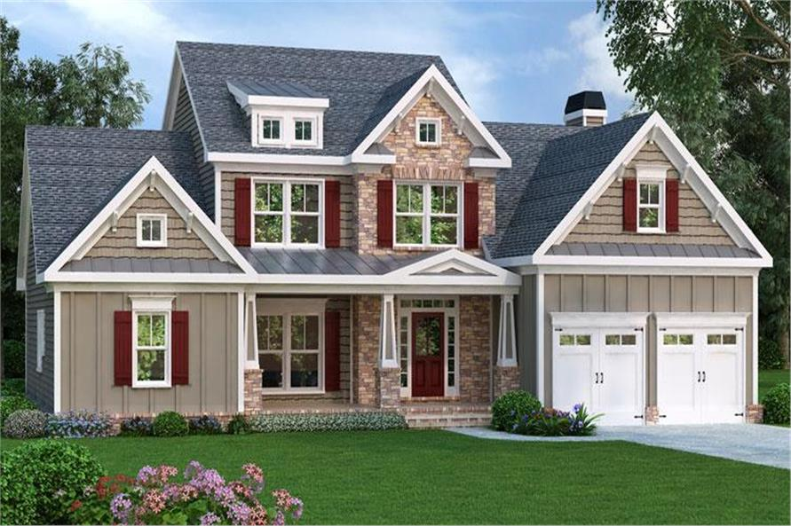 Main image for house plan # 17161