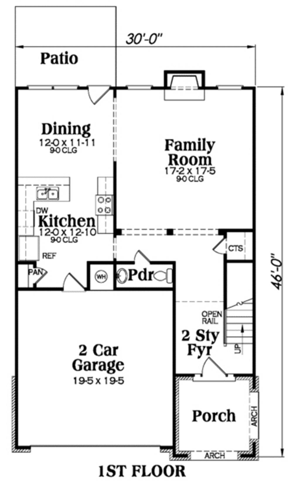 Large Images For House Plan 104 1043