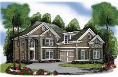 Main image for traditional house plan # 17122