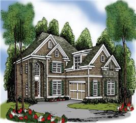 House Plan #104-1045