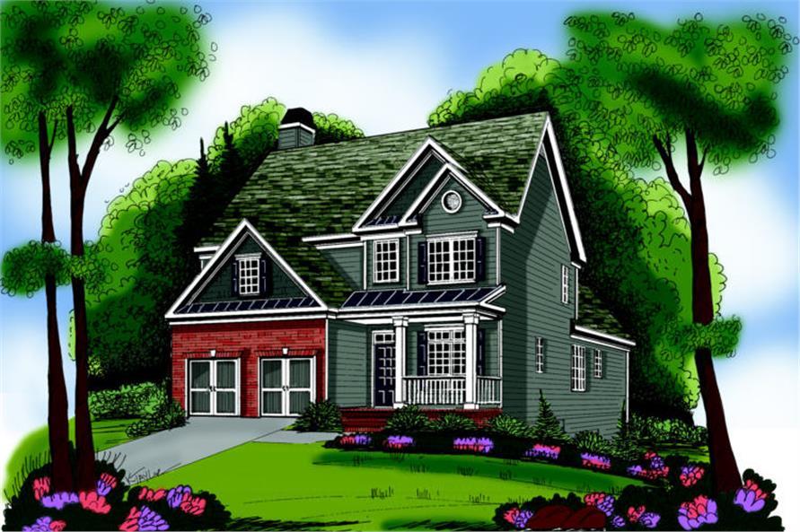 104-1046: Home Plan Rendering