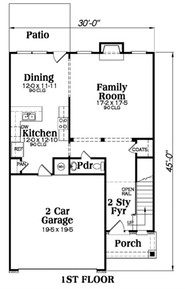 104-1049: Floor Plan Main Level