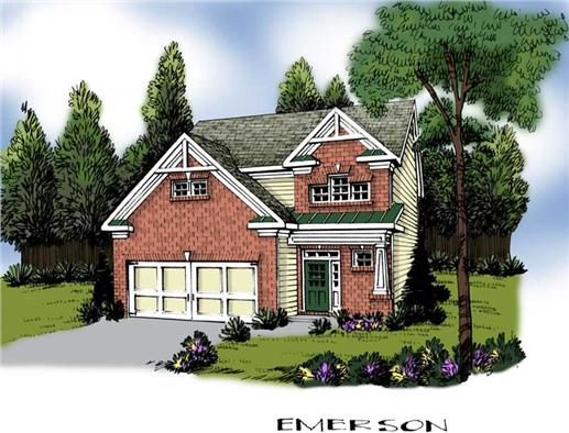 Main image for house plan # 20254
