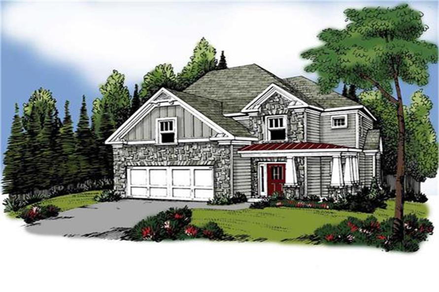 104-1051: Home Plan Rendering