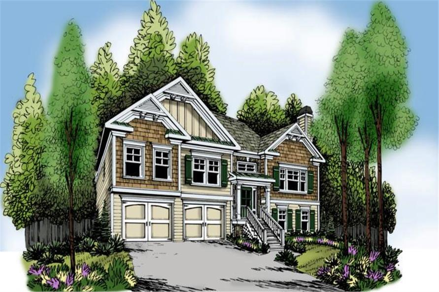 Main image for house plan # 17185