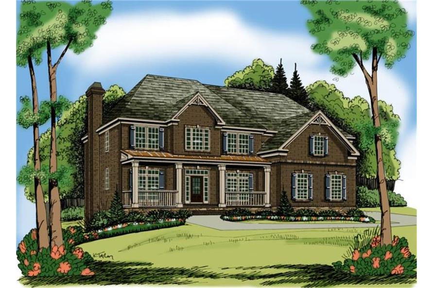 104-1053: Home Plan Rendering