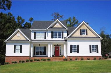 3-Bedroom, 2351 Sq Ft Traditional Home Plan - 104-1054 - Main Exterior