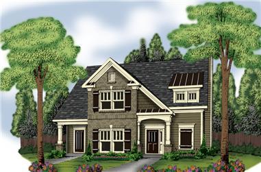 3-Bedroom, 2170 Sq Ft Ranch Home Plan - 104-1059 - Main Exterior
