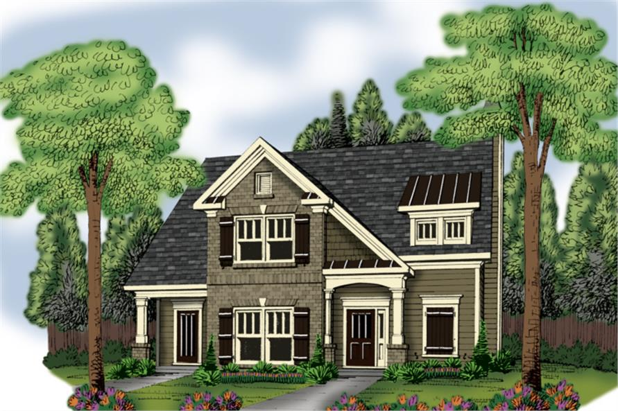 Main image for house plan # 20356