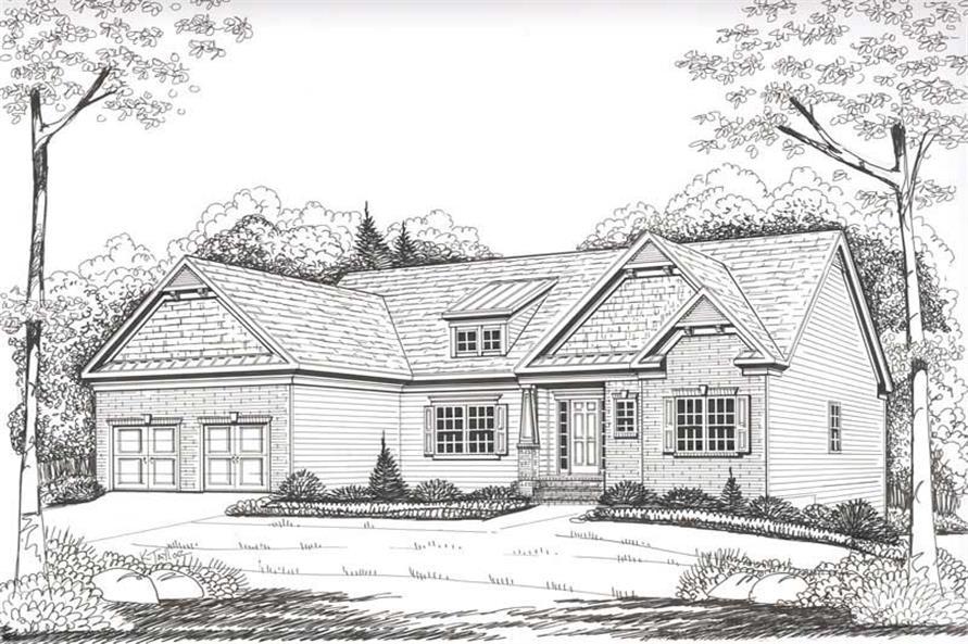 House Plan Kensington Front Elevation