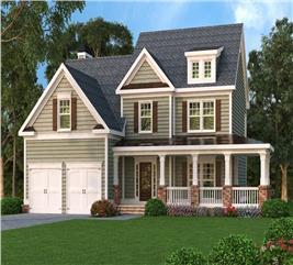 House Plan #104-1062