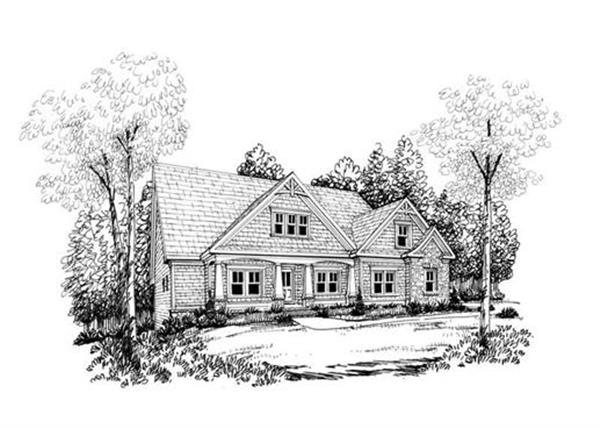 House Plan Davenport Front Elevation