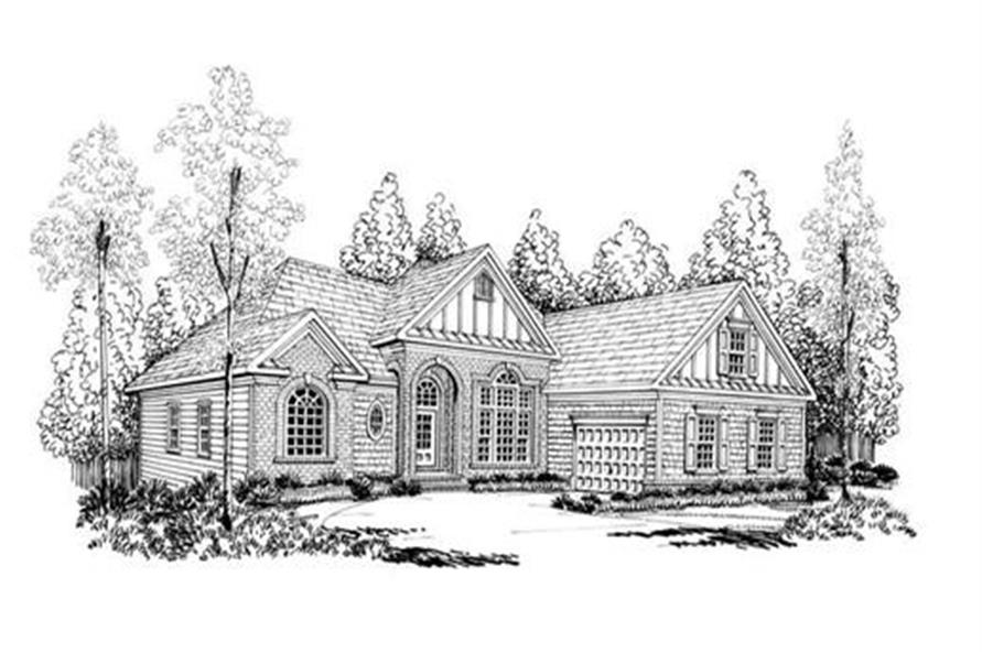 House Plan AG-Fairmont Front Elevation