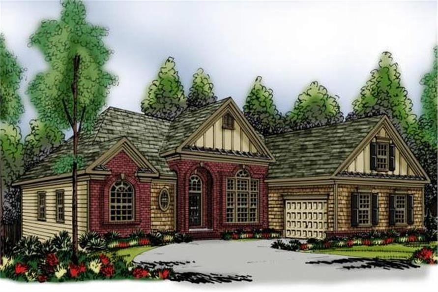 Main image for house plan # 17204