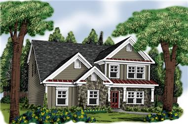 Main image for house plan # 20346