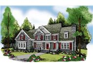 Main image for Traditional house plans # 17205