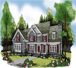 House Plan #104-1067