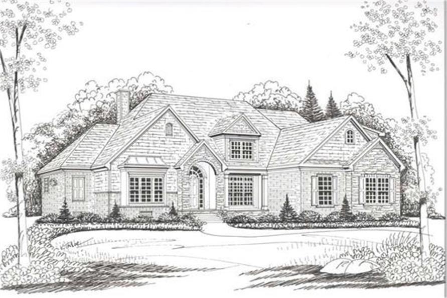 House Plan AG-Pinehurst Front Elevation