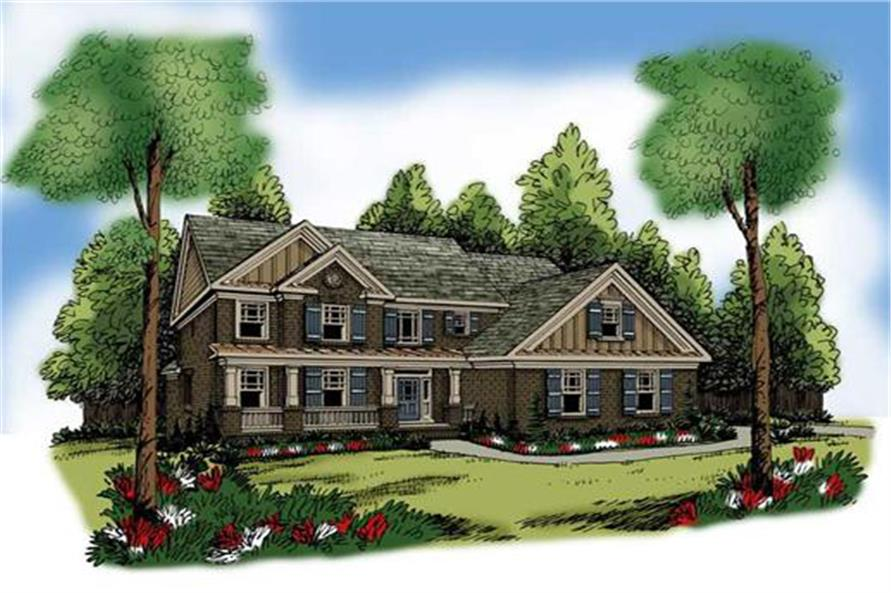 104-1069: Home Plan Rendering