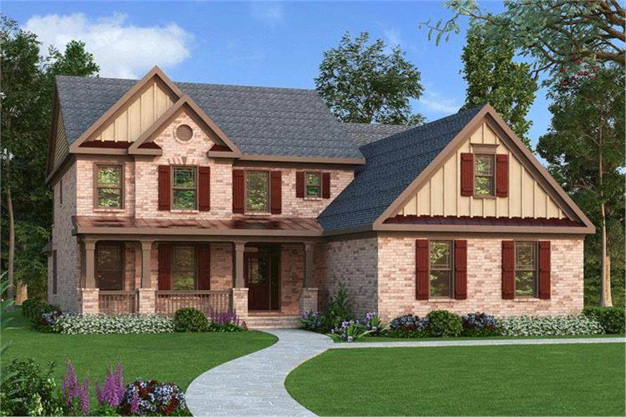 Main image for house plan # 17208