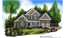 Main image for house plan # 17211