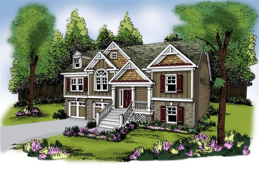 House Plan Callaway Front Elevation