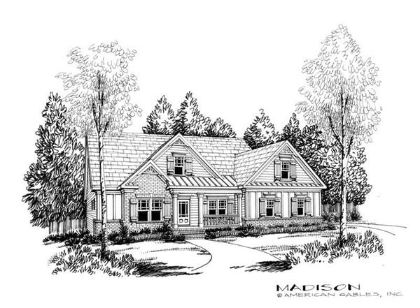 House Plan Madison Front Elevation