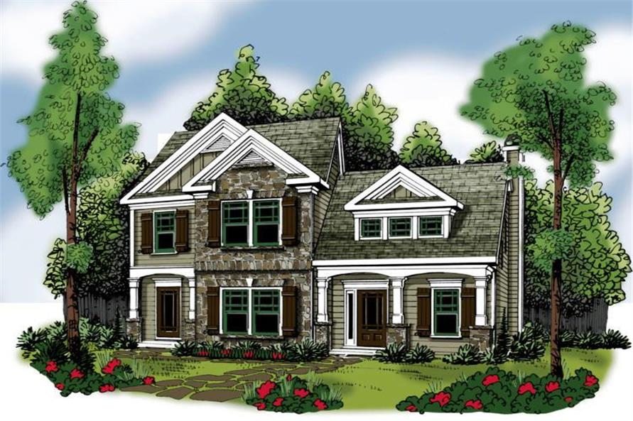 Main image for house plan # 17168