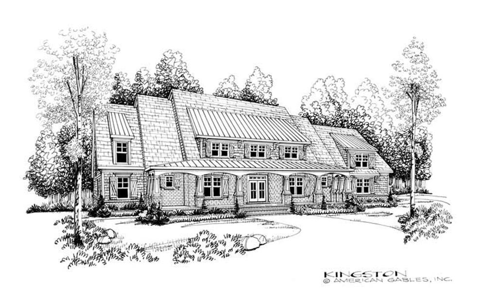 House Plan Kingston Front Elevation