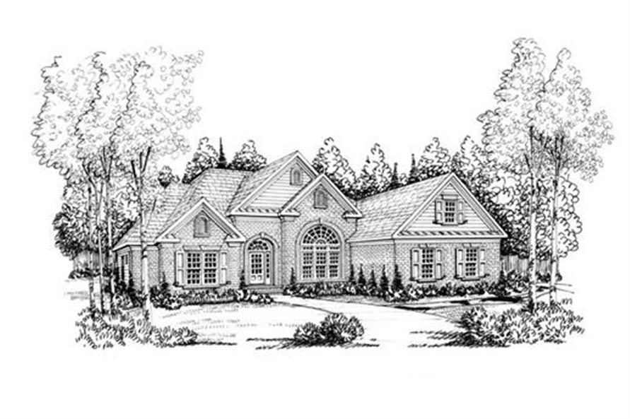 House Plan Eastwood Front Elevation