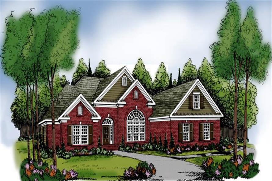 Main image for house plan # 17106