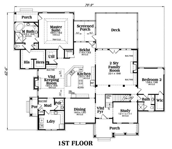 House Plan Mackenzie Main Floor Plan