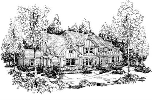 House Plan Mackenzie Front Elevation