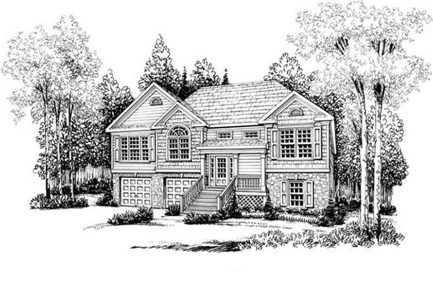 House Plan Dayton Front Elevation