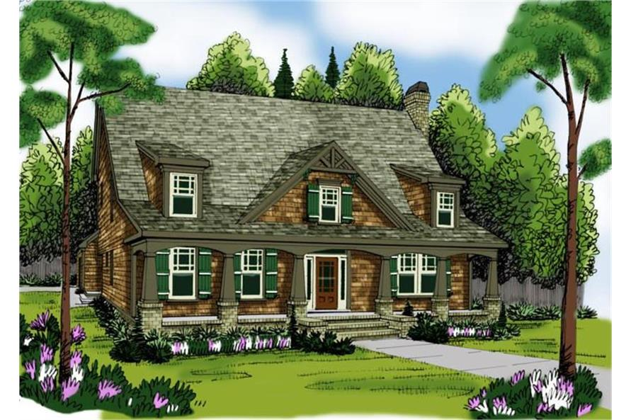 Home Plan Rendering of this 5-Bedroom,3525 Sq Ft Plan -3525