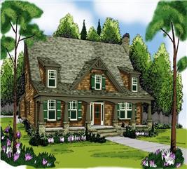 House Plan #104-1084