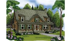 Main image for house plan # 17101