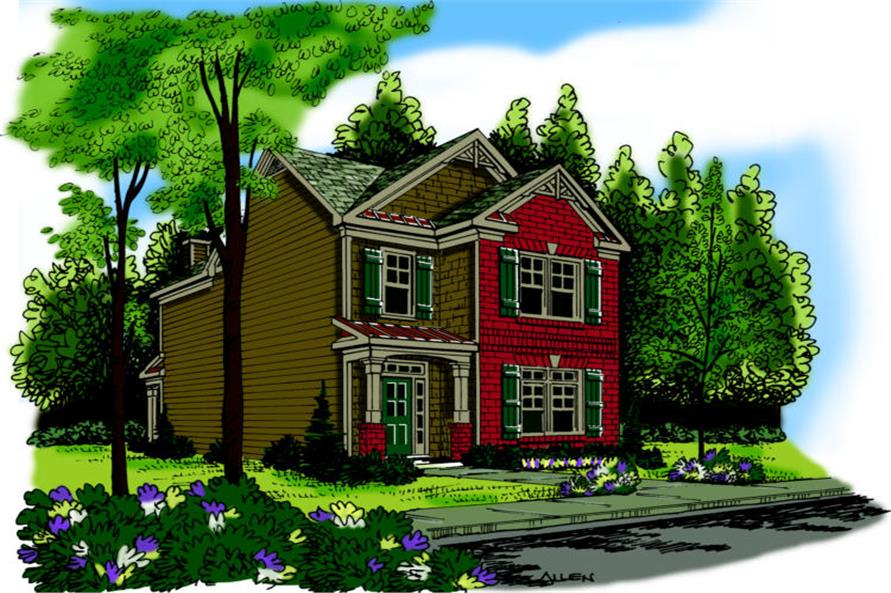 Main image for house plan # 17056