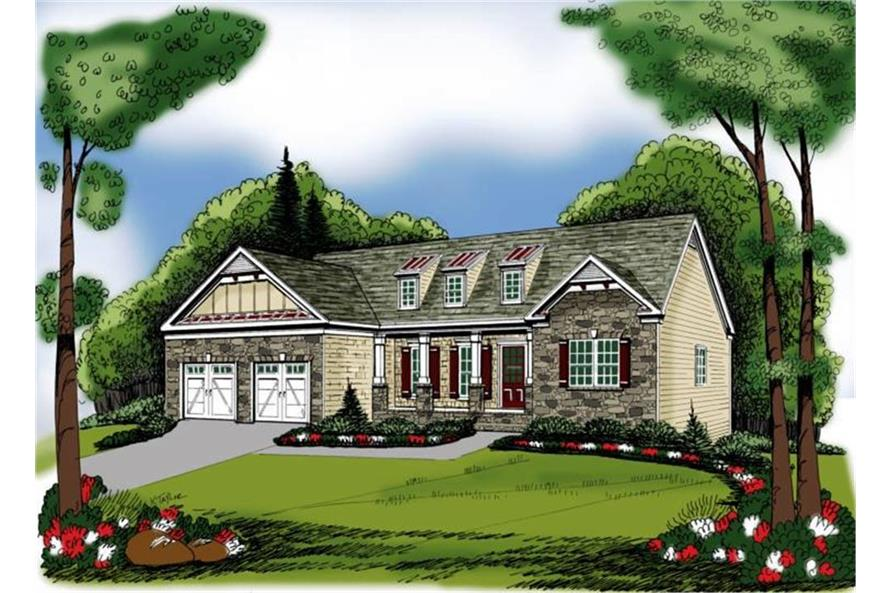 104-1089: Home Plan Rendering