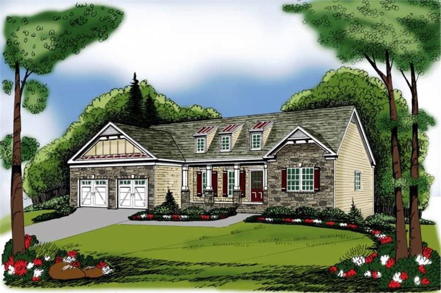 Main image for house plan # 17058