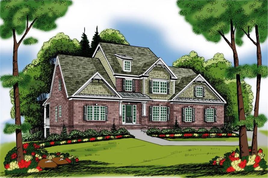104-1090: Home Plan Rendering