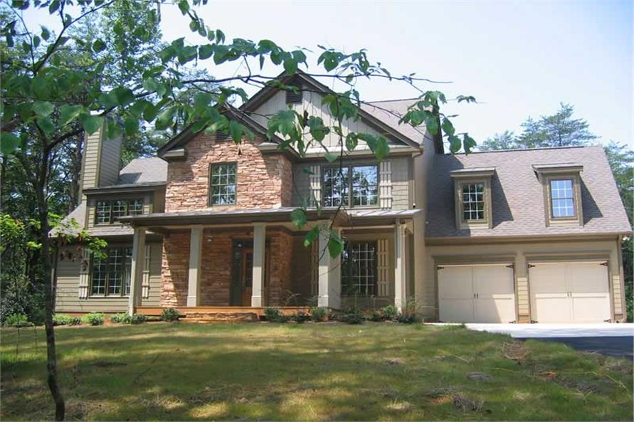 Home Exterior Photograph of this 4-Bedroom,2798 Sq Ft Plan -104-1092