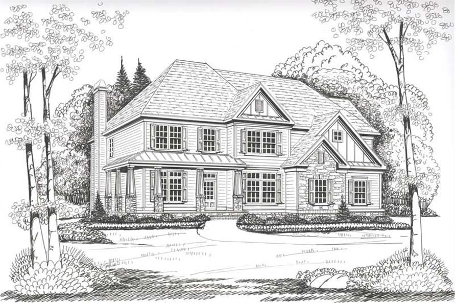 House Plan Oakleigh Front Elevation