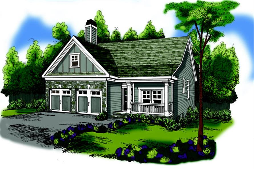 Main image for house plan # 17078