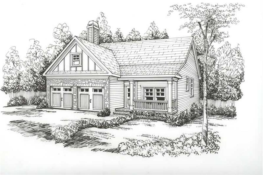 House Plan Heritage Front Elevation
