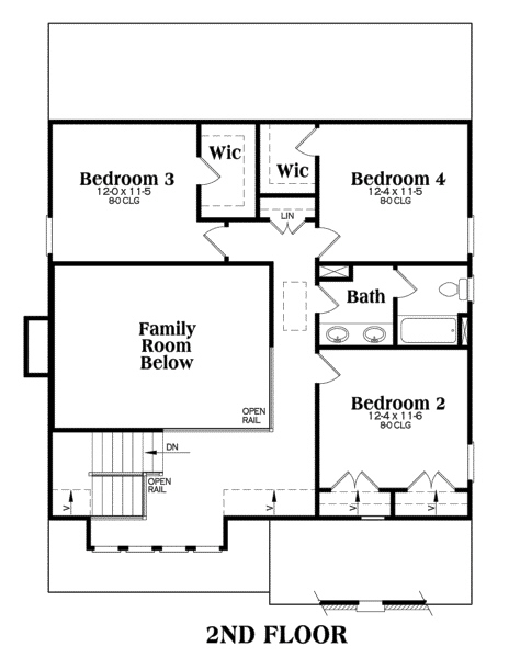 Southern home with 4 bdrms 2021 sq ft floor plan 104 1100 for How much is 1100 square feet