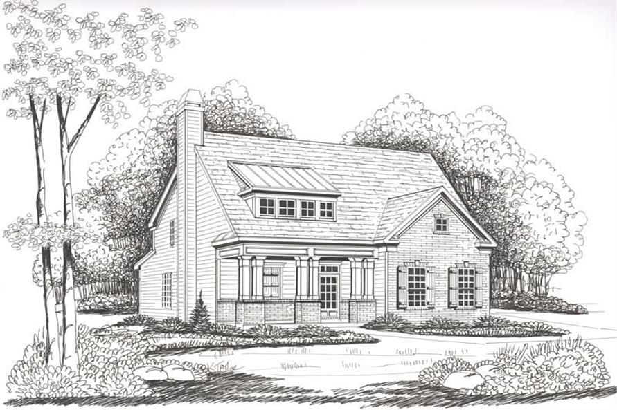 House Plan Vinings Front Elevation