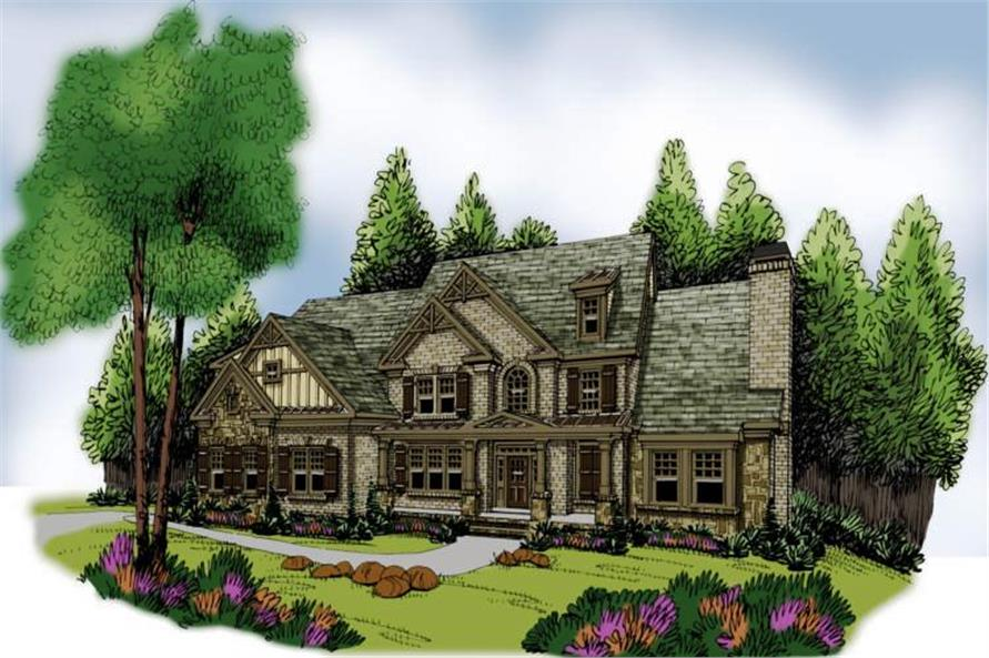 Main image for house plan # 17220