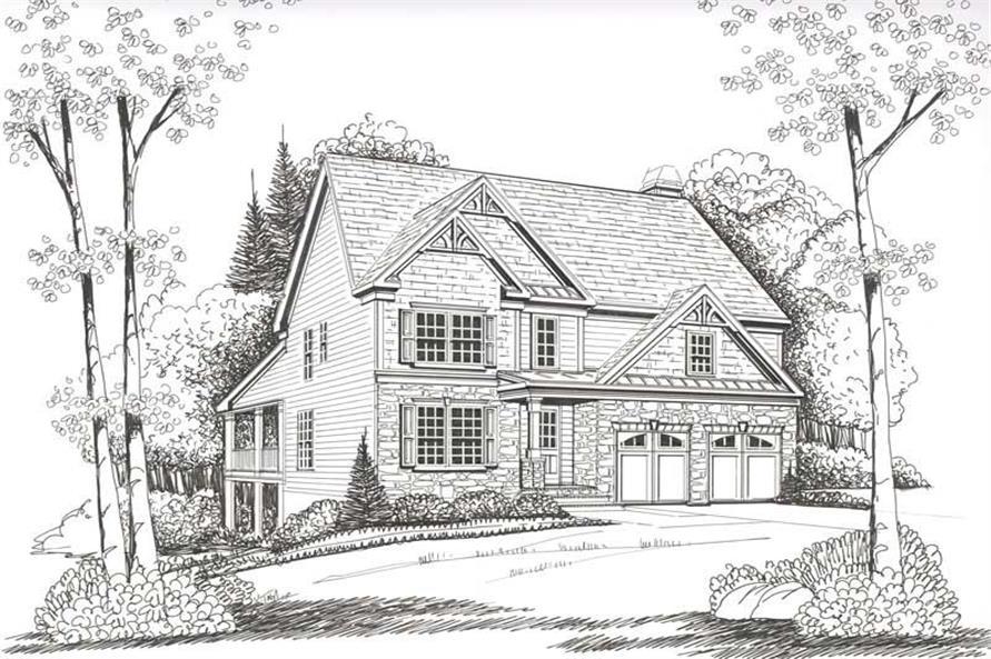House Plan Springdale Front Elevation